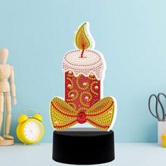 촛불하나 DIY 비즈 십자수 무드등 어린이 보석십자수_(2568266)