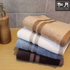 송월 썬셋 뱀부얀 160g 호텔수건 3매 선물세트