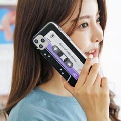 갤럭시 A82 5G (A826) 카세트테이프 젤리 케이스