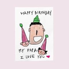 생일카드-my papa