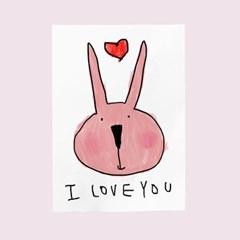 카드-i love you