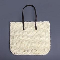 베이직 페이퍼 숄더백/여성가방 여름 바캉스 왕골가방