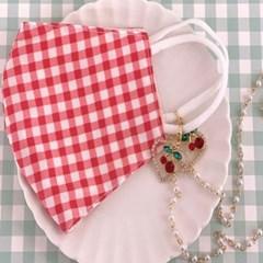 이어링 곰돌이 일회용 마스크 분실방지 패션 마스크줄