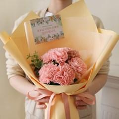 [어버이날] 비누카네이션 7P 꽃다발 (메세지텍포함)_(979017)