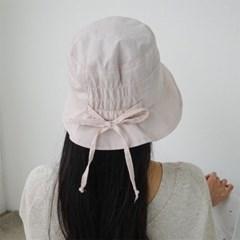 여자 봄 패션 예쁜 밴딩 리본 벙거지 버킷햇 모자