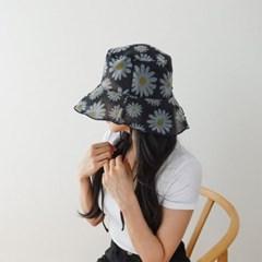 여자 봄 여름 시스루 예쁜 챙 벙거지 버킷햇 모자