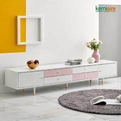 피카소 2100 TV거실장(화이트,핑크,민트) KFZ-251