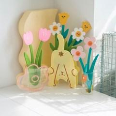 FAFA 오리지널 인테리어 플라워카드 펠트 꽃 장식