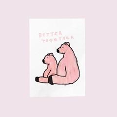 카드-better together(곰)