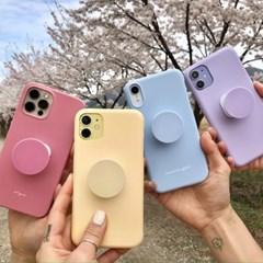 컬러풀 심플 스마트톡 그립 이니셜 아이폰 갤럭시