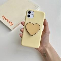 컬러풀 심플 하트 스마트톡 그립 이니셜 아이폰 갤럭시