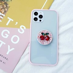 앵두톡+핑크범퍼 케이스