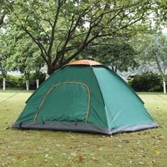 이지캠핑 자동 원터치 텐트(2~3인용/그린)