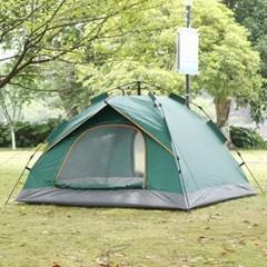 아우터 원터치 텐트(3~4인용/그린)