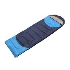 캠핑네이처 사계절 야외침낭(블루)