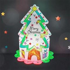 마미아트M-크리스마스 트리 조명등(전등갓) 만들기