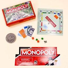 [맙소사잡화점] 월드스몰리스트 미니어쳐 모노폴리 보드 게임