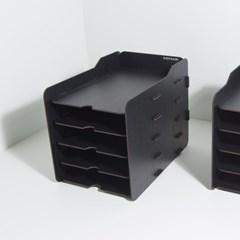 [나룸] TWD-011 DIY 블랙 서류 수납함 5단