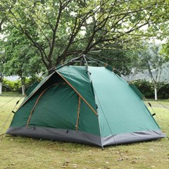 아우터 원터치 텐트(2~3인용/그린)
