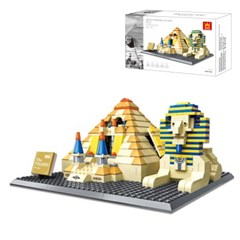 [gentoy] 4210 피라미드 이집트 (622p) /레고 호환블럭