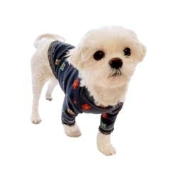 사탕꽃 강아지 티셔츠