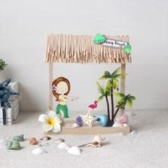 여름 바닷가 데코 모형-롱비치