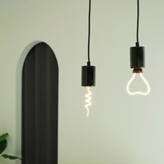 마블 1등 LED 블랙 식탁등 포인트 조명