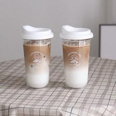 애니 루이 리유저블 텀블러 / 투명 내열 컵