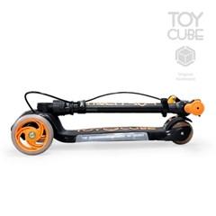 티큐브A1 블랙/LED바퀴및바디 핸드브레이크 접이식 세발킥보드