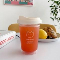 페이스모디 투명 리유저블컵