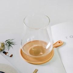 트리니 원형 실리콘 컵받침 7color