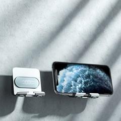 욕실 휴대폰 거치대 벽걸이 부착형