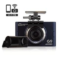 지넷 드림아이 G9 32GB 전후방 FHD HDR 2채널 블랙박스 사은품증정