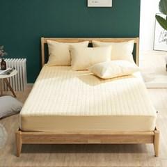 크라운 면 60수 항균 먼지없는 침대 매트리스 커버 K