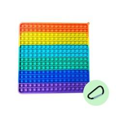 팟잇 무한뽁뽁이 피젯토이 초대형 푸쉬팝 사각형