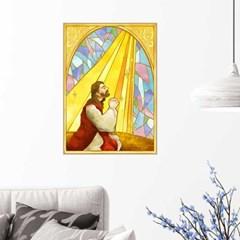 모던인테리어액자 C002 성경 기도 A2사이즈