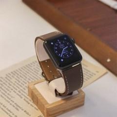 시계 애플워치 소가죽 레더 고급스런 시계줄 스트랩
