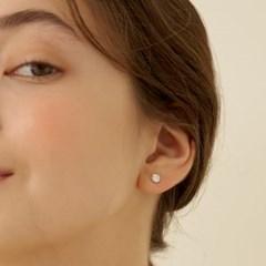 [실버925]모이사나이트 1캐럿 귀걸이_DE0003