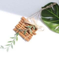 큐티 시나몬 갈란드 완제품 천연 모기 퇴치제 소품