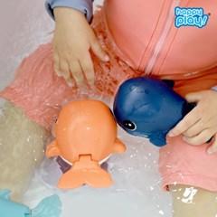 1+1+1 헤엄치는 파닥파닥 귀엽다고래 물놀이 목욕놀이_(2569666)