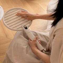 소싱 충전식 전자 전기모기채 파리채 플러스