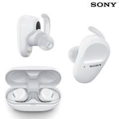 소니 WF-SP800N 노이즈캔슬링 무선 이어폰 / 화이트
