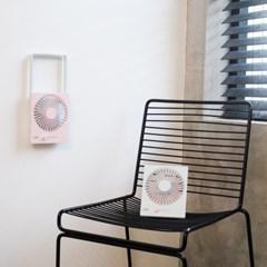 델키 폴딩 네모팬 무선 미니 휴대용 선풍기 탁상용/벽걸이 겸용