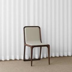 [헤리티지월넛] V형 의자 아이보리_(1759199)