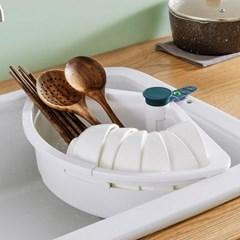 씽크대 선반 식기건조대 개수대 거름망 채반 설거지통