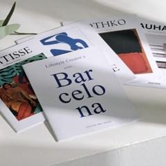 양면 인테리어 잡지 쇼핑몰 촬영 소품 공책 (13종 택1)