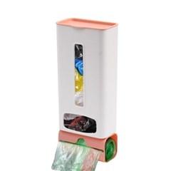 홈리빙 접착식 비닐봉투정리함 봉지롤 비닐수납함