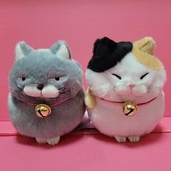 히케만쥬 식빵굽는 고양이인형 M사이즈 4종