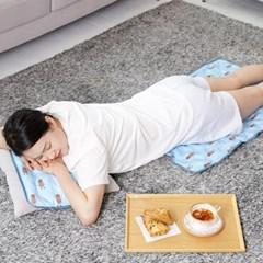 미스터 피넛 쿨매트(중형 2종세트)/매트+베개 1P