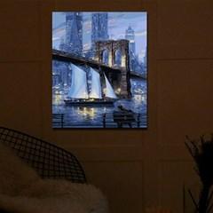 DIY LED 페인팅 - 미드나잇브릿지 LP05 (40x50)_(1622563)